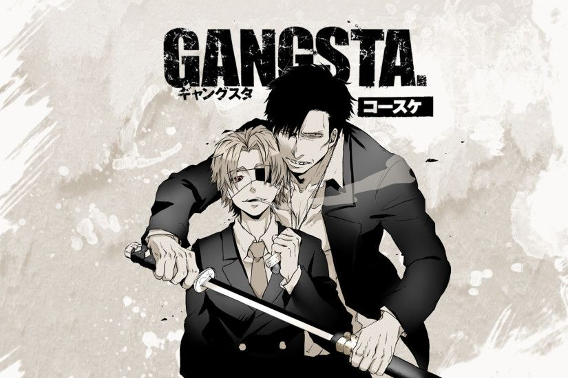 Nicolas Brown Gangsta Anime Wallpaper