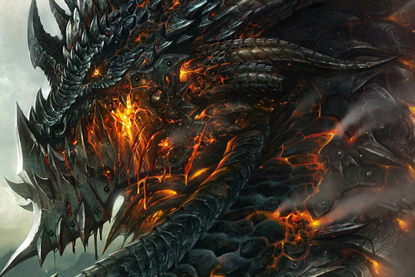 Awesome Dragons wallpaper