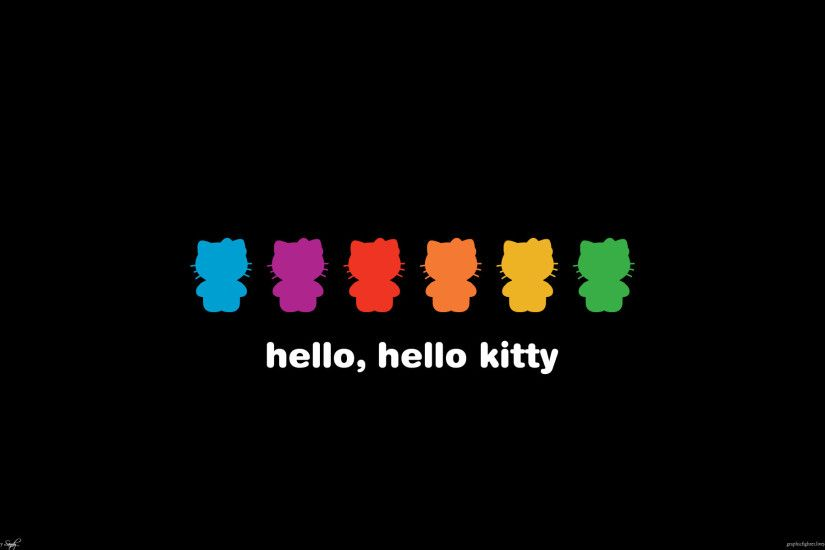 black-hello-kitty-wallpapers