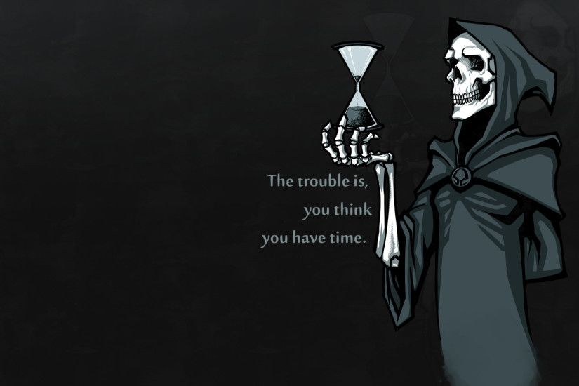 Death Hourglass Wallpaper