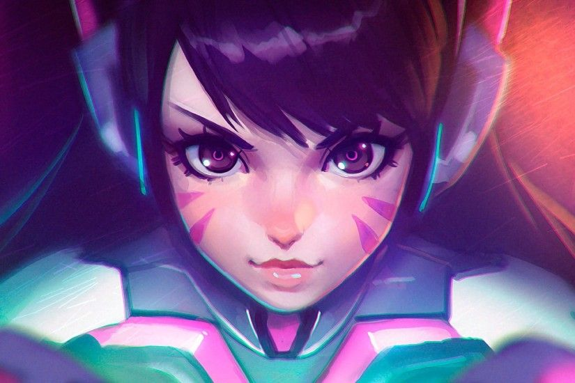 ... DVa Overwatch Artwork Wallpapers | HD Wallpapers ...