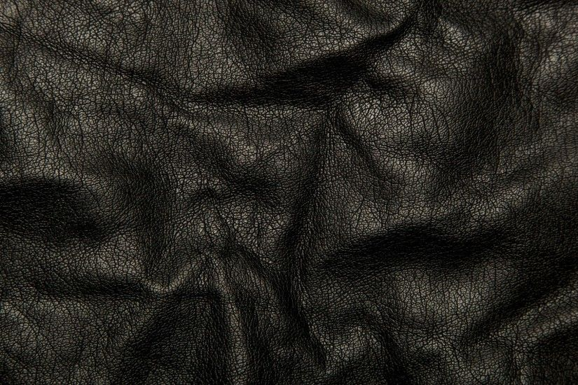 Preview wallpaper leather, black, background, texture, wrinkles, cracks  1920x1080