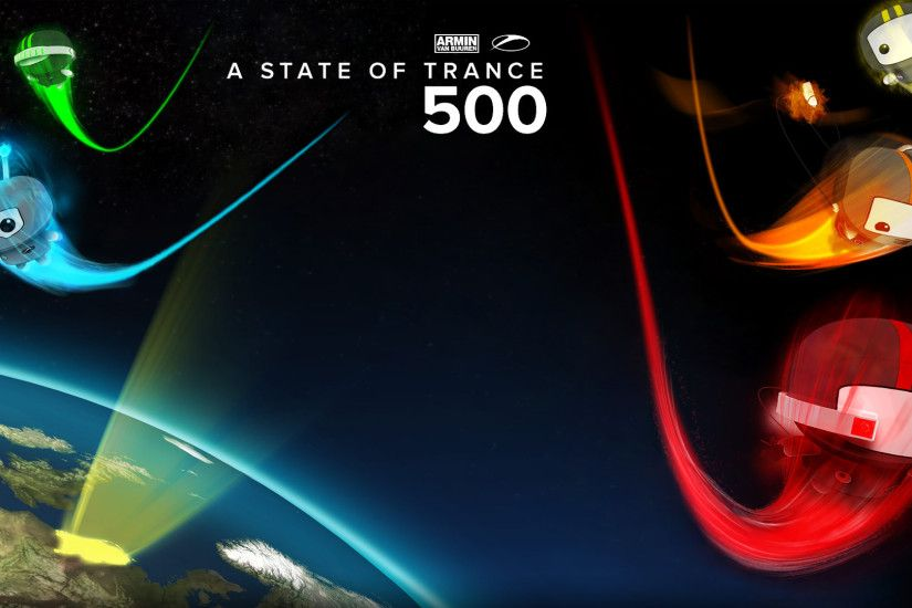 ... A State of Trance 500 by xmynox