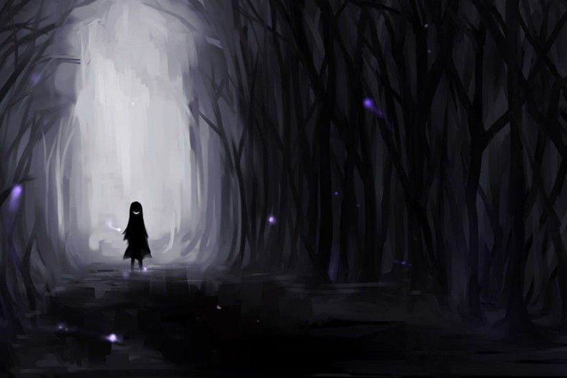 Dark Anime Scenery Wallpaper For Android As Wallpaper HD
