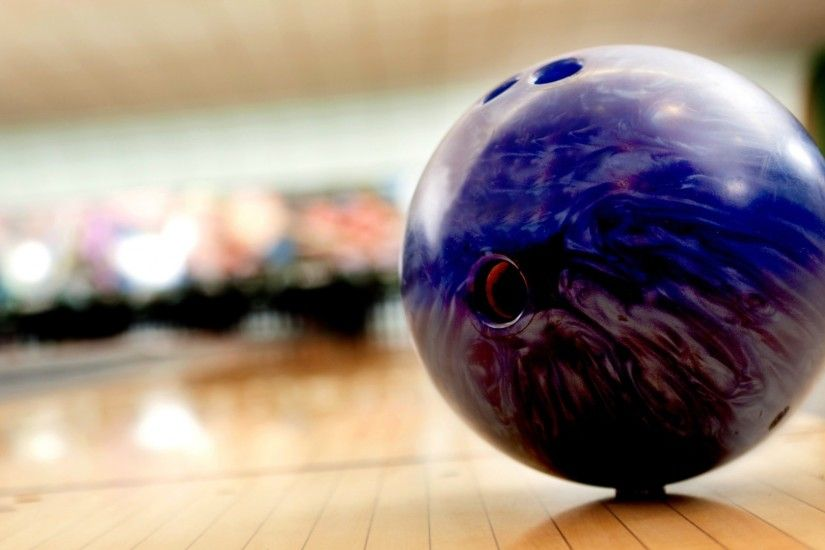 Preview wallpaper bowling, ball, blurred background 1920x1080