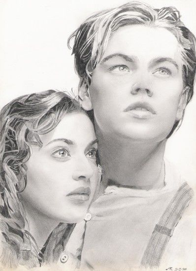 Titanic images Rose and Jack drawing HD wallpaper and background .