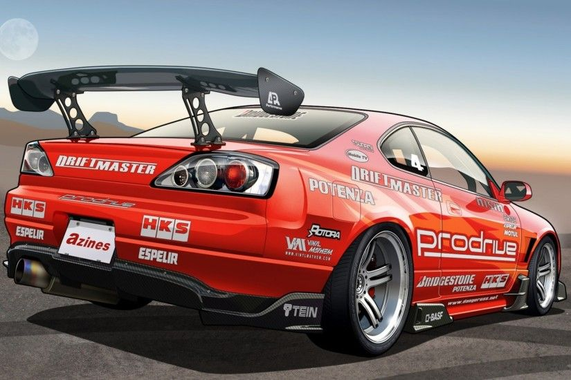 Download Wallpaper · Back. cars tuning vexel nissan silvia s15 ...