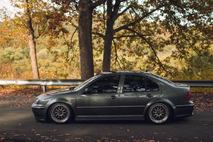 Wallpaper Volkswagen Jetta Mk4 Blue Car Tuning HD Picture Image .