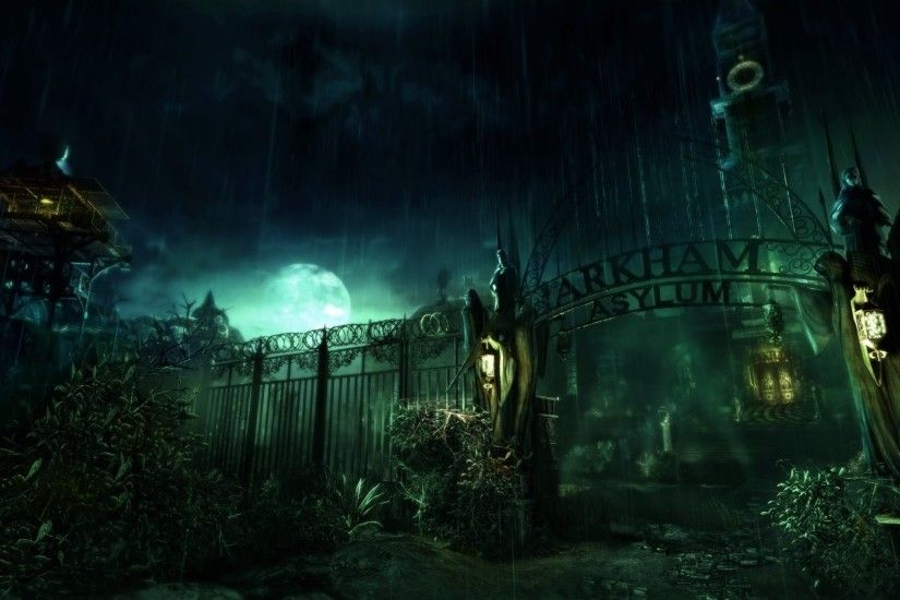arkham asylum crazy hospital game
