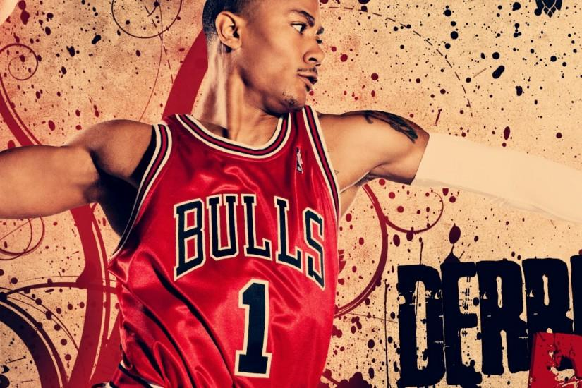 Preview wallpaper derrick rose, basketball, chicago bulls 2048x2048
