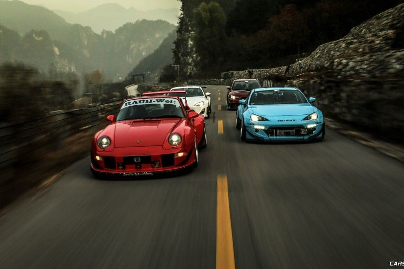 Rocket Bunny, Stance, Porsche, Car, Subaru BRZ, GT 86, Racing, Rauh Welt, RWB  Wallpapers HD / Desktop and Mobile Backgrounds