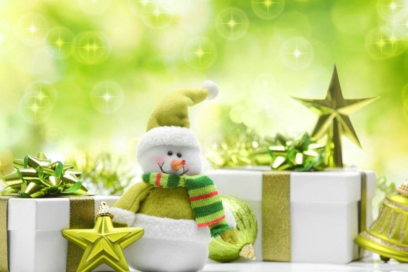 Green Christmas Presents - Wallpaper, High Definition, High Quality .