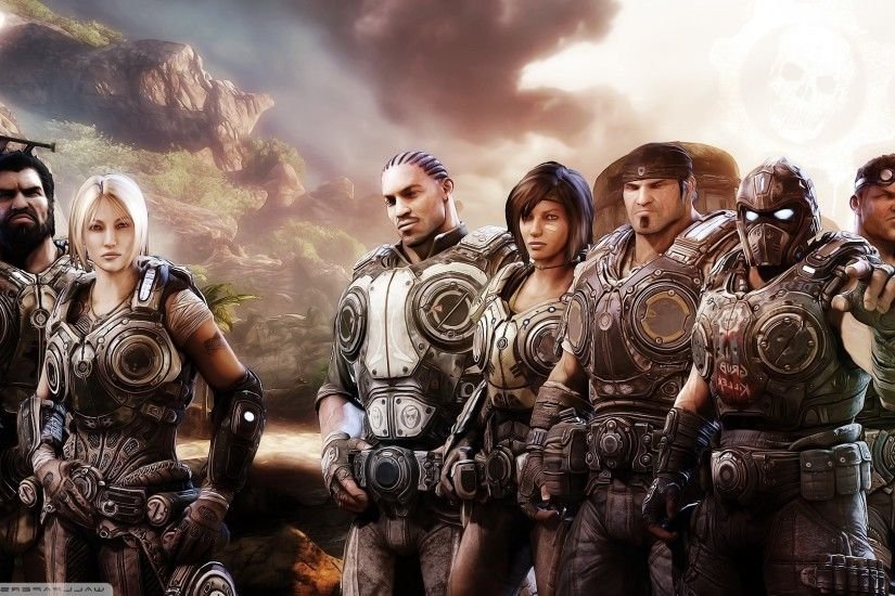 Gears Of War, Video Games, Gears Of War 3 Wallpaper HD