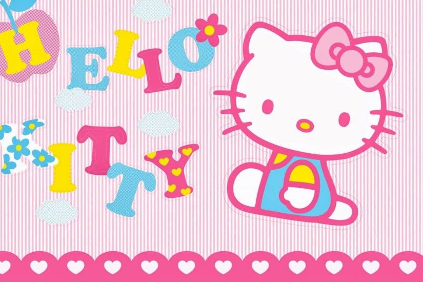Pink hello kitty wallpaper art hellokitty wallpaper Hello 1920×1080