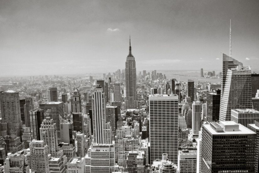 New York City Black And White wallpaper hd resolution
