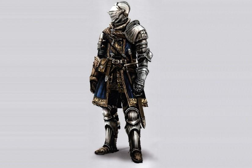 Preview wallpaper dark souls, armor, helmet, equipment, model 1920x1080