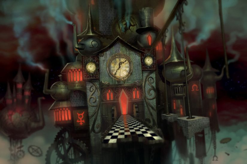 alice madness returns mad hatter wallpaper - Google Search