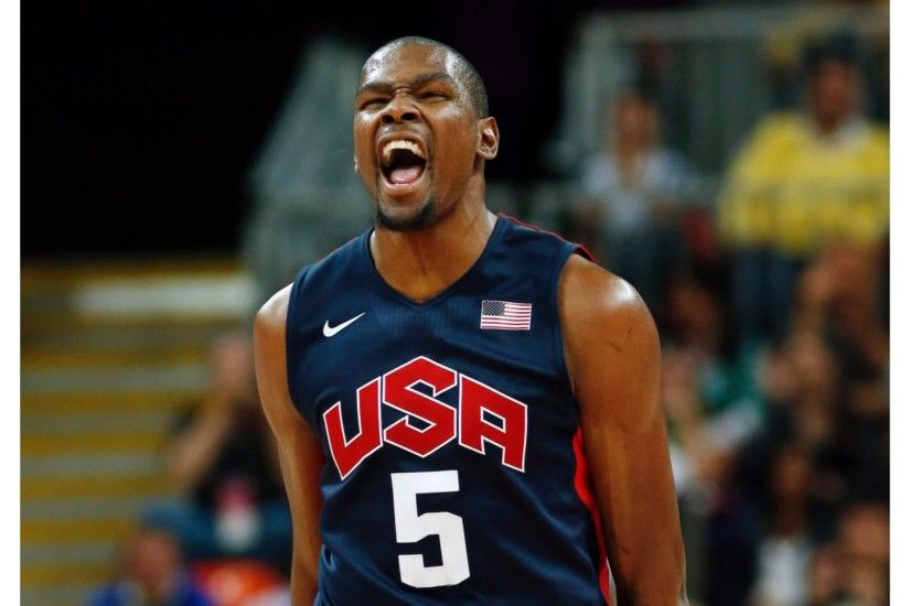 Team USA Kevin Durant 4K Wallpaper