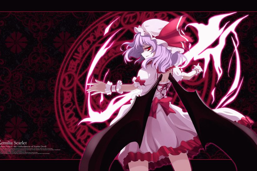 anime, Touhou, Flandre Scarlet, Remilia Scarlet Wallpapers HD .