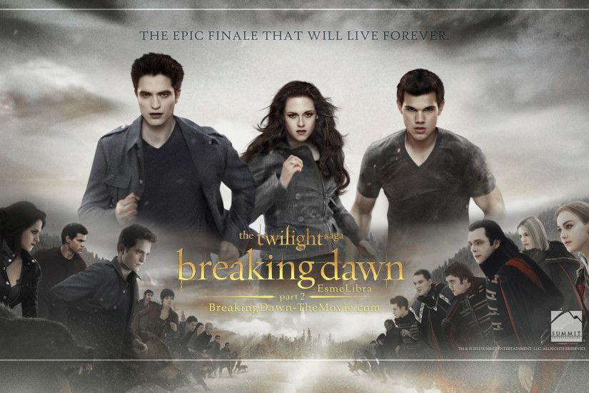 The Twilight Saga Breaking Dawn Part [ wallpaper Movie | HD Wallpapers |  Pinterest | Breaking dawn, Dawn and Hd wallpaper