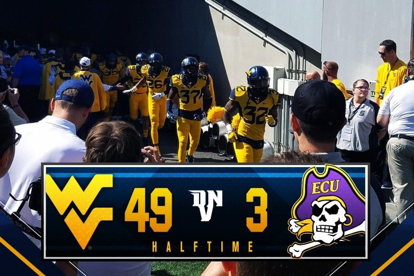 The Mountaineers received the opening kickoff to start the game and in the  opening drive, West Virginia would march down the field 75 yards in 2  minutes and ...