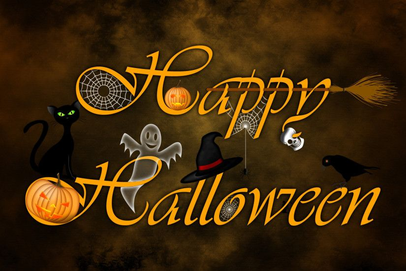 Happy Halloween Wallpaper Desktop For Desktop Wallpaper Â« Long Wallpapers