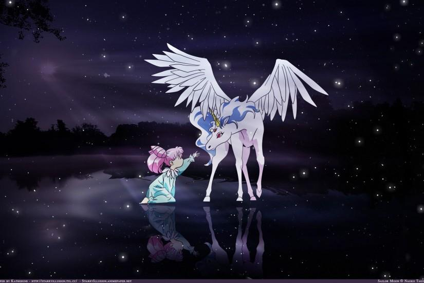 Sailor Moon Pegasus Background For Free Downlo Wallpaper - Cartoon .