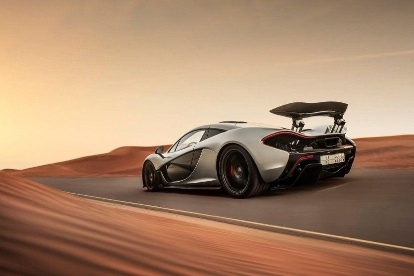 Preview wallpaper mclaren, p1, supercar, speed, desert 1920x1080