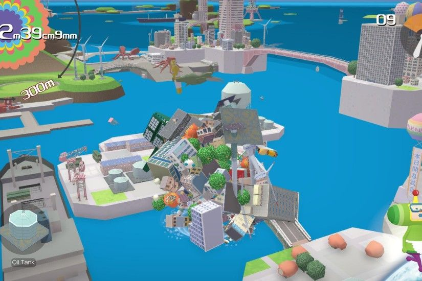 That's perhaps what I find most fascinating and brilliant about Katamari  Damacy – that it takes you so quickly from smallest to biggest, from victim  to ...