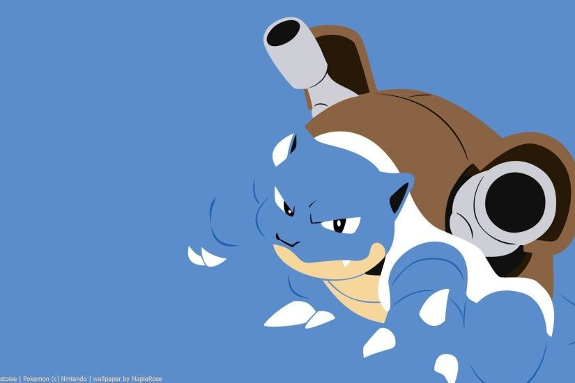 Wallpapers For > Mega Blastoise Wallpaper