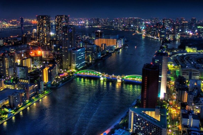 Tokyo City At Night. SHARE. TAGS: Panoramic Twitter Backgrounds ...