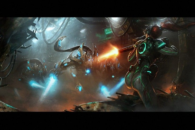 starcraft protoss high templar wallpaper | Starcraft 2 Kerrigan Wallpaper  1080p #1