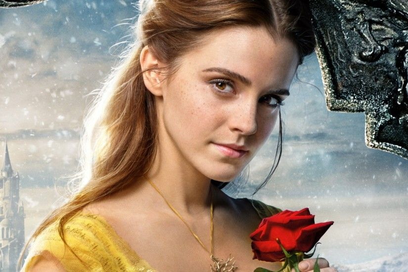 ... Emma Watson Beauty and the Beast Check Wallpaper Abyss ...