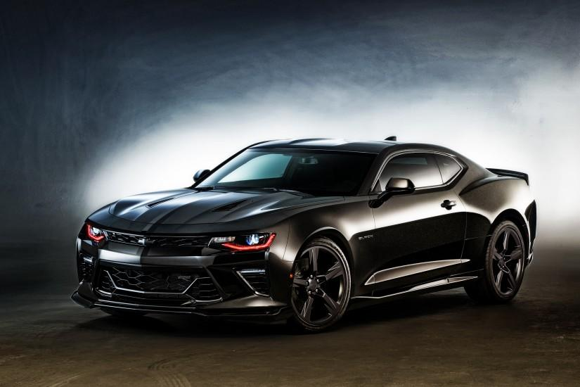 2016 Chevrolet Camaro Black Wallpaper | HD Car Wallpapers