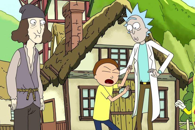 download free rick and morty background 1920x1080 windows