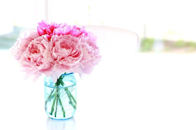 Peonies Flower Arrangements Peony Bouquet Wallpaper Decorating Blue Peony Flower  Bouquet
