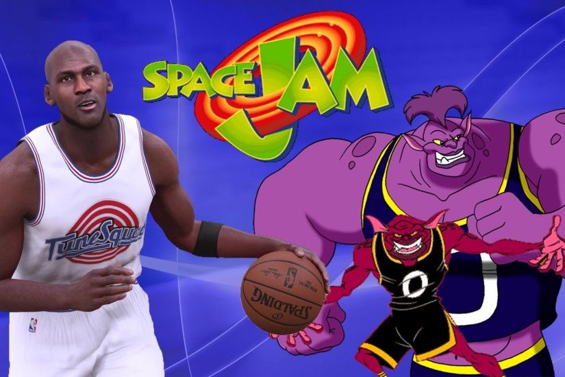 Space Jam Team! - Diamond Michael Jordan Versus the Monstars! - NBA 2K16  MyTeam - YouTube