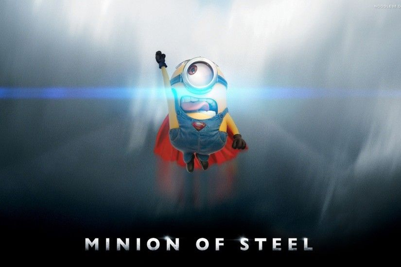 Games / Minion Wallpaper. Minion, Man of Steel, Superman