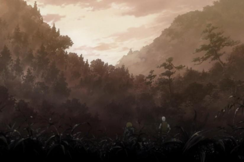 I also think that mushishi has a good reason to use all this detail since  it's partly trying to convey nature's beauty to the viewer whereas shows  like FSN ...