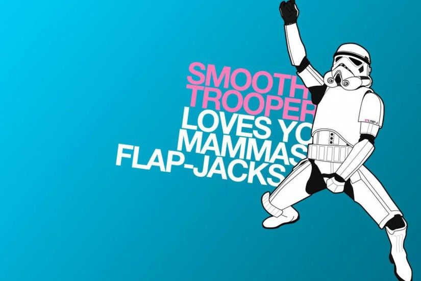 Funny HD Storm Trooper Wallpaper