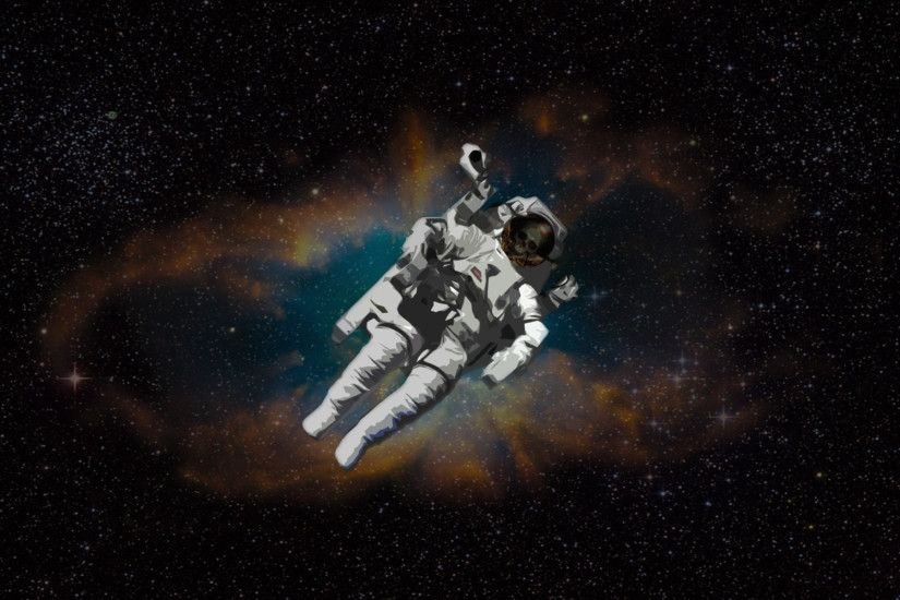 Free Creative Astronaut Wallpaper ...