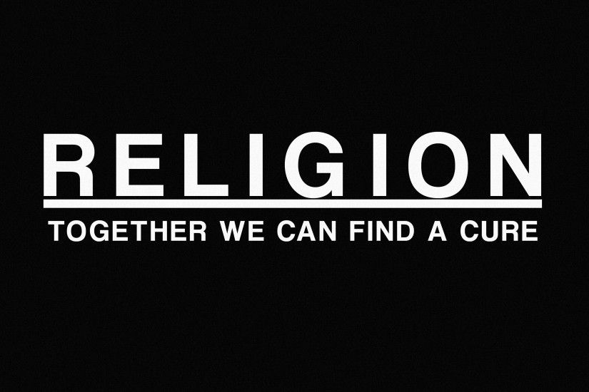 dark, Religions, Simple Background, Quote, Atheism Wallpapers HD / Desktop  and Mobile Backgrounds