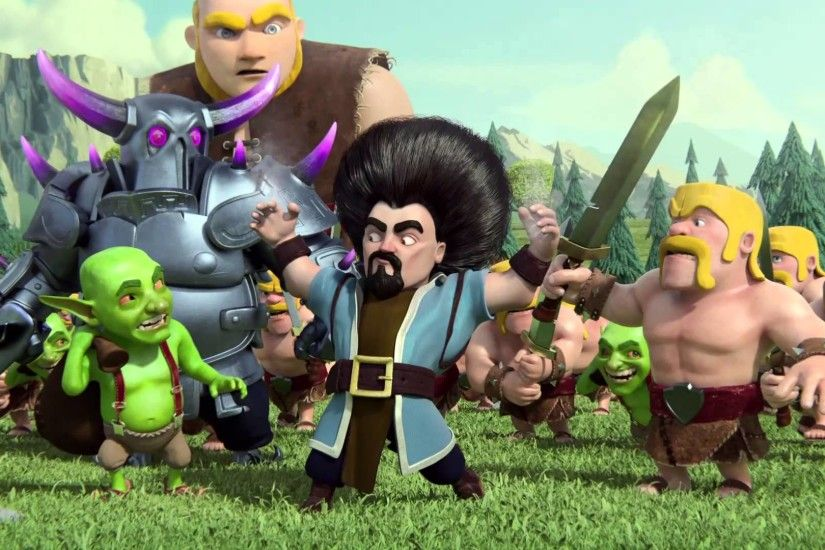 ... Clash Of Clans HD Video Game Wallpapers ...