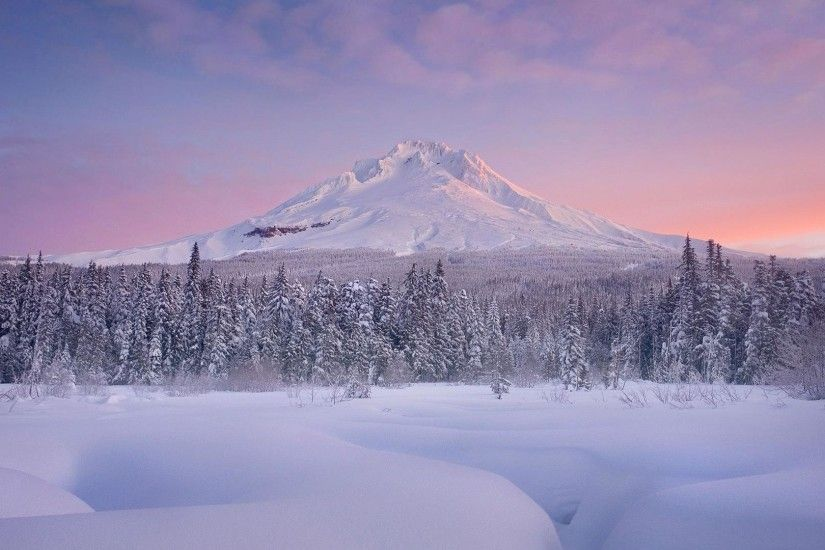 1920x1080 Charming winter scenery and mountain snow background wide  wallpapers:1280x800,1440x900,1680x1050