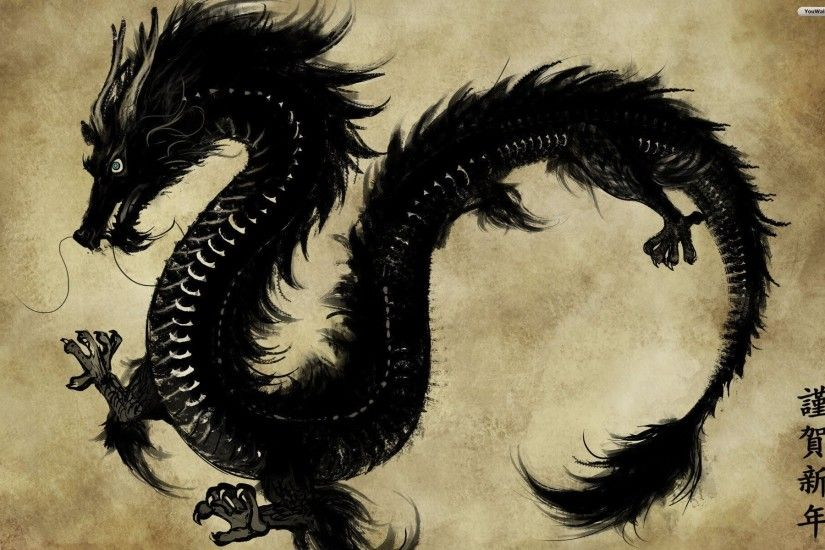 Black Dragon Wallpapers HD (43 Wallpapers)