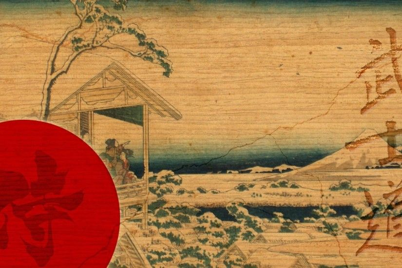 Traditional Samurai Art Wallpaper Photo
