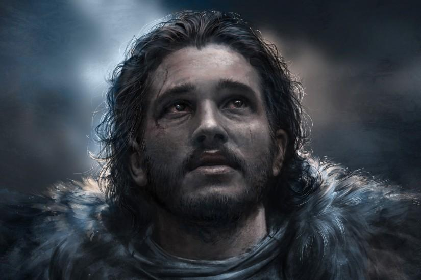 Jon Snow Best Art · Jon Snow Best Art Wallpaper