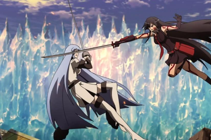 General Esdeath vs. Akame of Night Raid!! This was one hectic battle!
