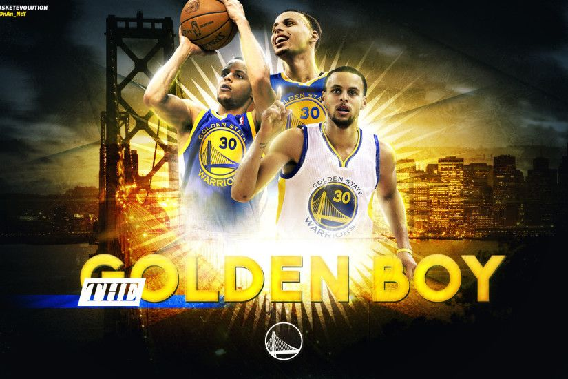 Stephen Curry The Golden Boy 2015 Wallpaper