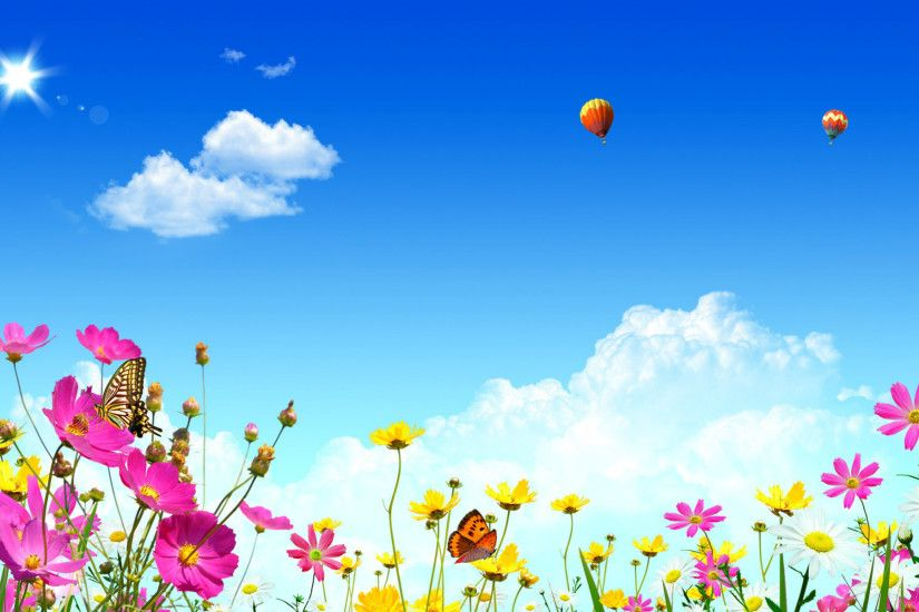 Beautiful spring wallpapers .